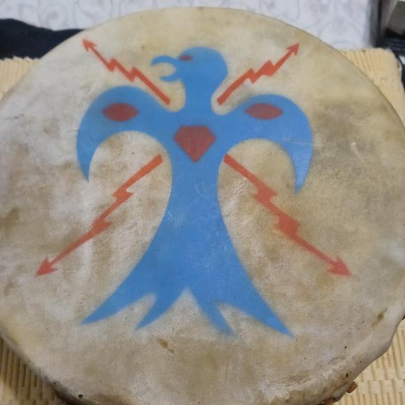 Native American Tom Tom Drum